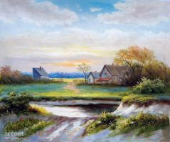 A Picturesque Grange - Arteet by Arteet