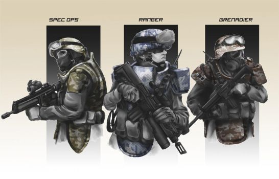 Near Future Infantry by hiteklolife