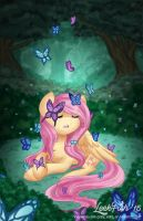 A Butterfly's Song by LeekFish