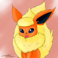 Flareon by JollyThinker
