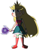 Star Butterfly by Franci-Bases