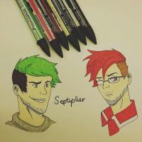 Septiplier by XeroXWolf