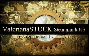 Photoshop Steampunk Kit by ValerianaSTOCK