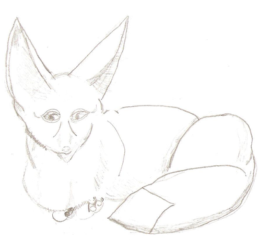 Fennec Sketchy by Kina1994