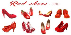 PNG#8 Red Shoes by miaoaoaoao