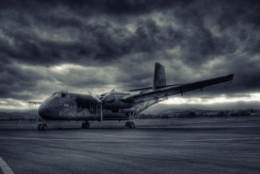 de Havilland Caribou by RichardjJones
