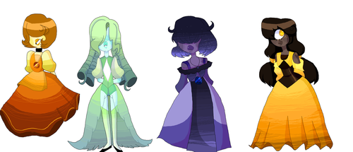 Sapphires by Sweetilia