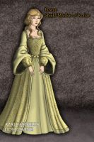 Eowyn at the Coronation by GingerLass0731