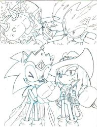 Sonic Vs Knuckles MY NUMBER1 FRIENDLY RIVAL teasr2 by trunks24