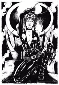 Catwoman by Leomatos2014