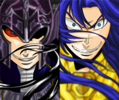 The traitor vs the demon by DeathGrimmjow