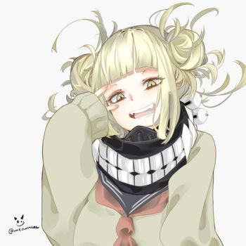 Commission Sample!!-Toga fanart by Meowniac