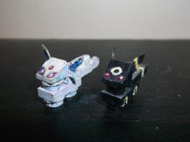 LEGO Pokemon: Espeon and Umbreon by TommySkywalker11