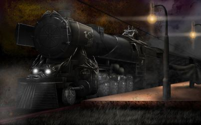 The Dragoned Train by Devinian