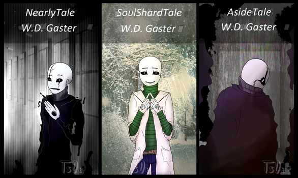 NT, SST, AT (W.D. Gaster) by Tsebary