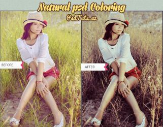 Natural-psd-coloring by psdtutsuz