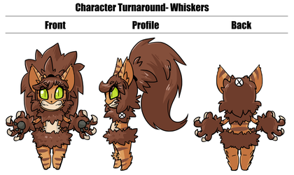 Wicked Wardrobe: Whiskers turnaround by DrCrafty