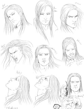 Practicing expressions by Destinyfall