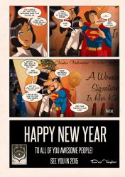 Lois and Clark page 9 by Des Taylor by DESPOP