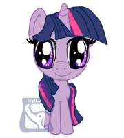 Chibi Twilight Sparkle by IcyPanther1