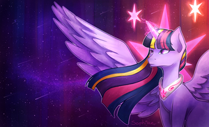 Princess Twilight Sparkle by SaphireCat11