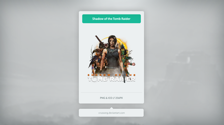 Shadow of the Tomb Raider - Icon by Crussong