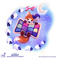 Daily Paint 2089. Blankit by Cryptid-Creations
