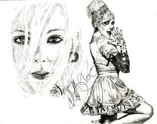 Maria Brink the rockstar by metalliphil