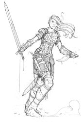 Red Sonja by Max-Dunbar