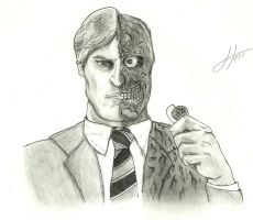 Harvey - Two Face: It's about what's fair. by Juanmnl29