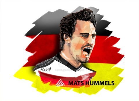 Mats Hummels by MSBielefeld