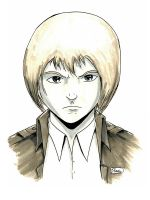 Anime Weekend Atlanta Sketches: Armin Arlert by Shono