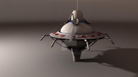 UFO Model by Pharaoh-Hamenthotep
