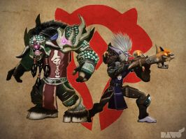 World of Warcraft - Hunters by Paterack