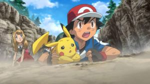 Ash and Serena Injuryed (Movie 17) by WillDynamo55