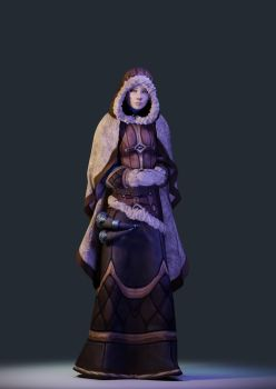 Warcraft Northrend Expedition: The Nun by Belvane