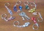Sparkly Shinies - Key Rings by Kanthara
