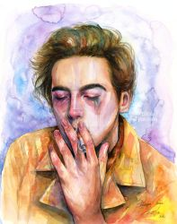 cole sprouse by Artilin