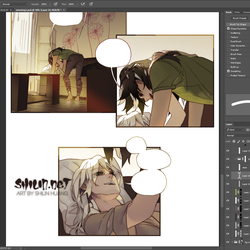 AU Comic Preview by shilin