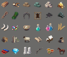 Game icons by sziabori