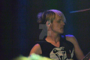 Mikey Way at iTunes Festival by VitriolicHeart