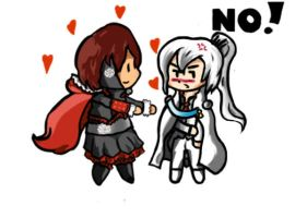 Future AU - Ruby x Weiss by SCRUBSFANBOI
