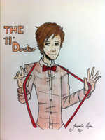 The 11th Doctor by arpajean