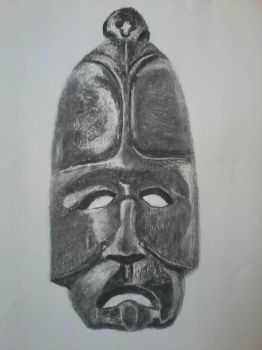 Charcoal (Wood Mask) by Marites73