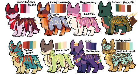 Dog Adopt Batch (OPEN) by Mama-Bacon