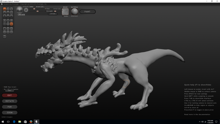 Forest Drake WIP by bombblaster89