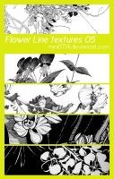 Flower Line textures 05 by mini0714