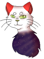 Space Cat Pixel by swagdoggos