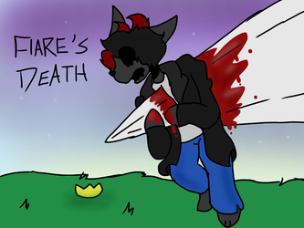 Flare's Death by TheOddDoggo