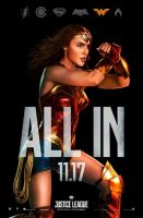 New Justice League Wonder Woman All In Poster by Artlover67